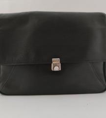 Lagana crna kožna torba