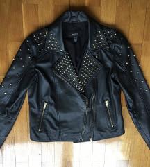 Kozna jakna sa nitnicama SNIZENA 7000
