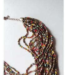 Šarena ogrlica od perlica