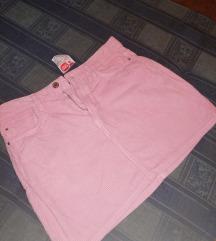 Pink Suknjica somot