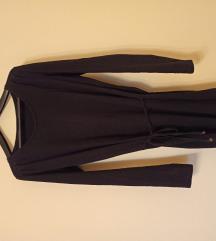 Crna pamucna haljina/tunika