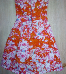 Zara top haljina pamučna