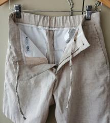 Zara pantalone od lana novo