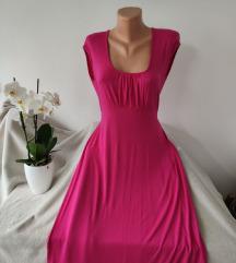 Roze haljina vel L