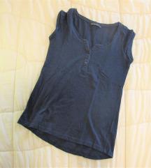 713. Terranova majica kratkih rukava, teget