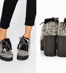 NOVE Asos chunky cipele gleznjace