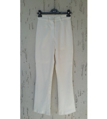 Bele elegantne pantalone XS/S