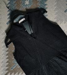 Rezz Reserved crna reljefna haljina