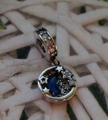 Original Pandora privezak, Mesec i zvezde