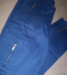 Legend plave pantalone sa džepovima sa strane