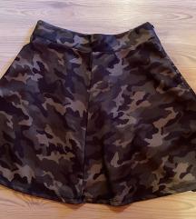 Ženska military suknja