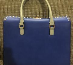 Plavo-bela torba