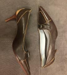 Mexx braon kozne cipele novo