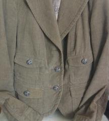 Somot maslinasta jakna, retro