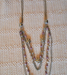 Dugačka ogrlica sa perlicama