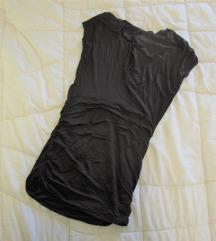 594. Majica od viskoze, tamno braon