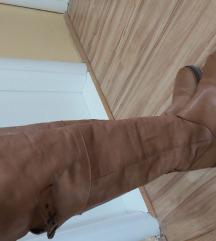 Kožne cizme preko kolena akcija 2800