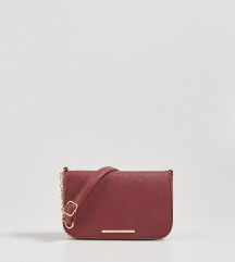 Bordo moderna torba sa etiketom