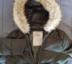 Zara zelena zimska jakna