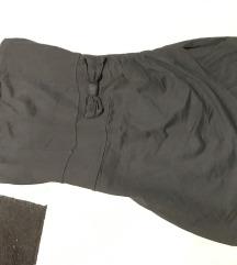 Crna kratka Terranova haljinica