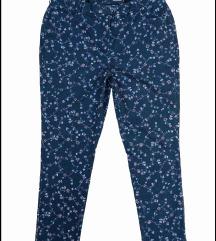 Mona cvetne farmerke pantalone 46 samo probane