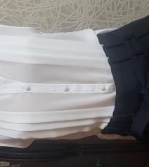 H&M pantalone duboki struk NOVO sa etiketom