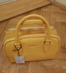 Furla kožna torba ORIGINAL žuta