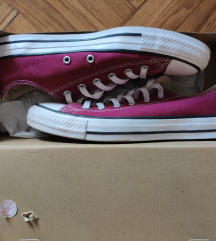 Converse All Star bordo plitke patike