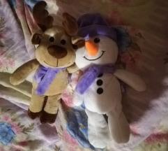 Sneško belić i irvas igračke