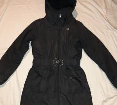 Original ADIDAS crna duza jakna vel. 40
