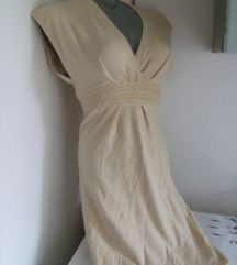 Krem vunena haljina S/M