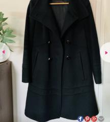 SNIZENO Zara crni kaput WOOL M/L