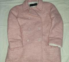 Zara bebi roze kaputic l
