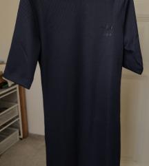 Adidas teget haljina sa printom na leđima