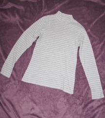 774. Majica rolka sivo bele pruge