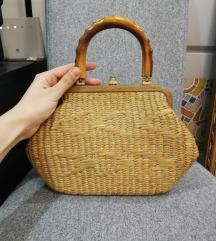Raritet - vintage pletena torba