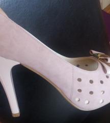 Cipele puder roze nove