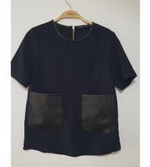 Zara majica sa dzepovima xs/s
