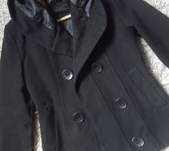 *SALE* Crni kratki kaput, vel. S/M