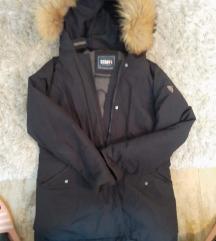 Staff zimska jakna sa pravim krznom xl l