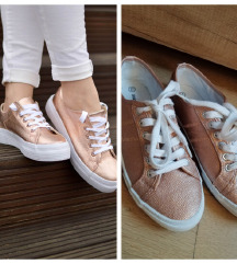 Deichmann rose gold patike 37