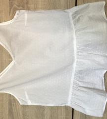 Bela majica kosuljica