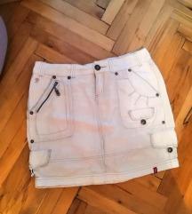 Suknja mini bela S/M