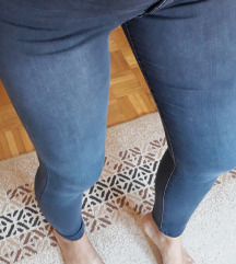 LCW sive skinny pantalone