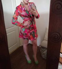 SNIZENA  -  3300* Cvetna sako haljina