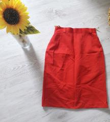 Suknja do kolena NOVO ( viskoza )