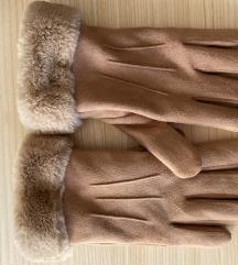 Bež rukavice