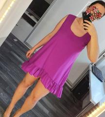 Ljubičasta letnja haljina
