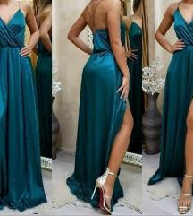 Prelepa duga haljina- univerzalna velicina