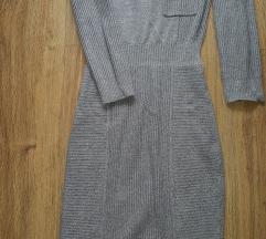 Siva haljina H&M sada 400 din